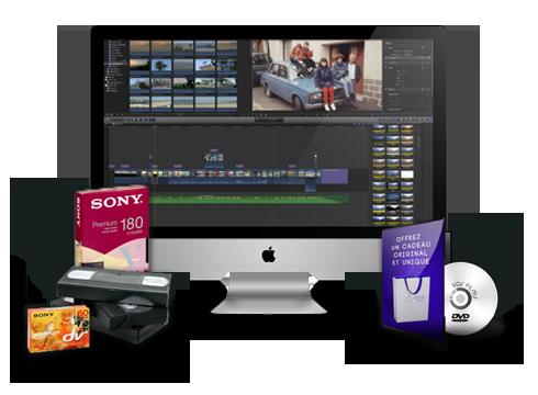 transfert de films sur dvd Transfert de films sur DVD BLOC k7 1 1