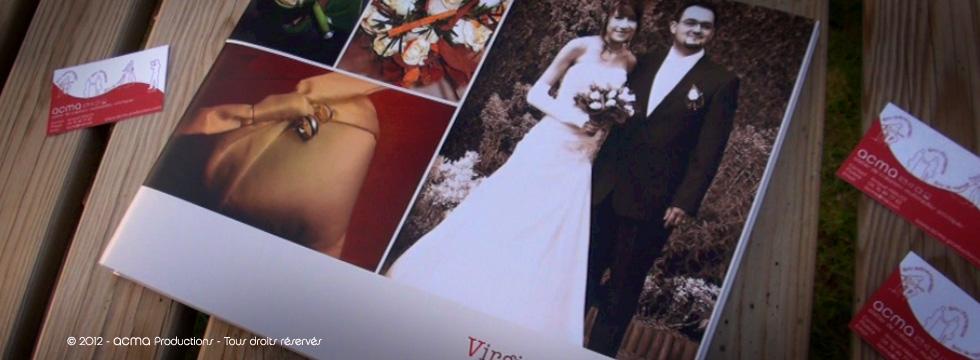 livre de mariage album de mariage reportage photos Livre de Mariage Album de Mariage Reportage photos ACMA LIVRE VIRGINIA1 1