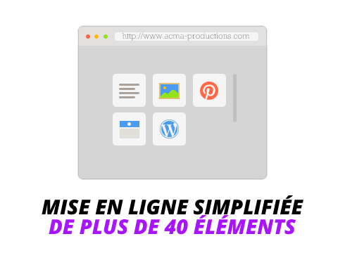 creation site web Création site web BLOC 40elements 1