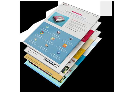 site corporate personnalisé Site Corporate personnalisé BLOCS visuels 1