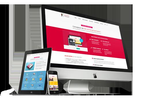 site corporate personnalisé Site Corporate personnalisé BLOCS visuels4 1