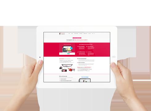 site corporate personnalisé Site Corporate personnalisé BLOCS visuels7 1