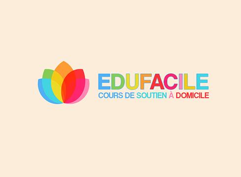 logo texte animé Logo texte animé BLOC logo edufacile 1