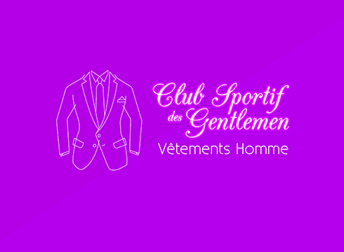 logo texte animé Logo texte animé BLOC logo gentlemen 1