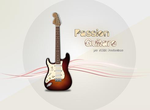 logo professionnel 2d Logo professionnel 2D BLOC logo guitare 1
