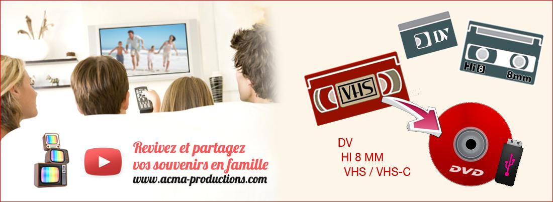 transfert de films sur dvd Transfert de films sur DVD ACMA blog k7 vhs hi8 1