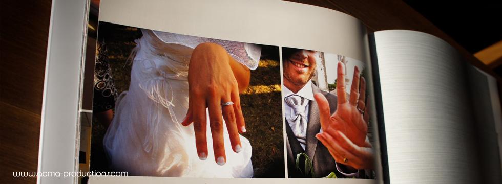 livre de mariage album de mariage reportage photos Livre de Mariage Album de Mariage Reportage photos ACMA MARIAGE LIVRE EMILIE3 1