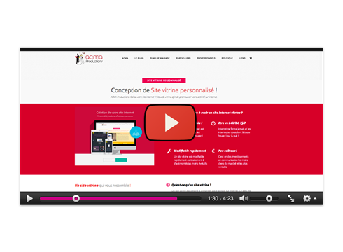 promotion video de votre site internet Promotion video de votre site internet BLOCS videoweb 1