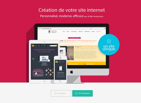 creation site web Création site web BLOC SITE INTERNET1 1