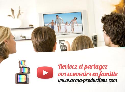 transfert de films sur dvd Transfert de films sur DVD BLOC tv souvenir 1