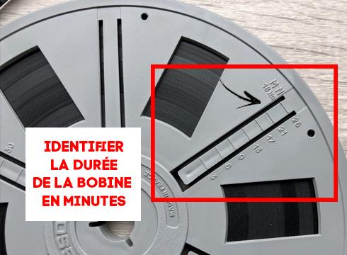 Transfert bobines SUPER 8 Dure CC 81e bobine super8 ACMA